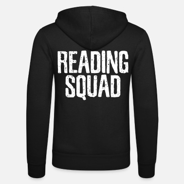 Reading Read Read Read - Unisex Zip Hoodie