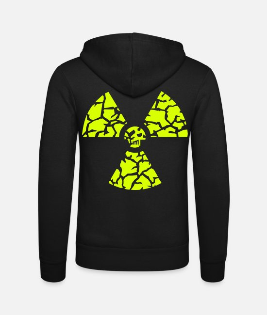Chernobyl Hoodies & Sweatshirts - against nuclear power - Unisex Zip Hoodie black