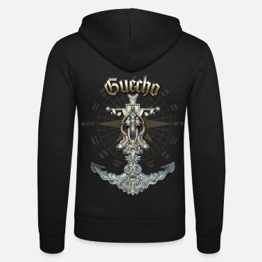 Guecho Anchor Nautical Sailing Boat Summer - Unisex Zip Hoodie