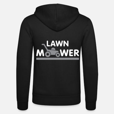 Lawn Mower Lawn mower gift automatic lawn - Unisex Hooded Jacket by Bella + Canvas