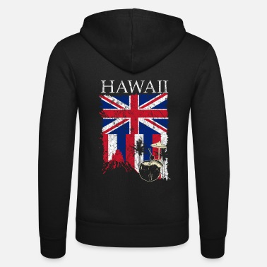 Hawaii Hawaii - Unisex hættejakke fra Bella + Canvas