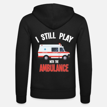 Ambulance Driver ambulance paramedic ambulance driver gift - Unisex Hooded Jacket by Bella + Canvas