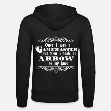 Arrow Gamemaster Arrow To The Knee | Funny gift - Unisex Zip Hoodie