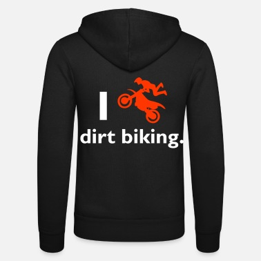 Dirt Bike Dirt biking - Unisex Zip Hoodie