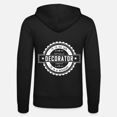 Decorated DECORATOR - Unisex Zip Hoodie