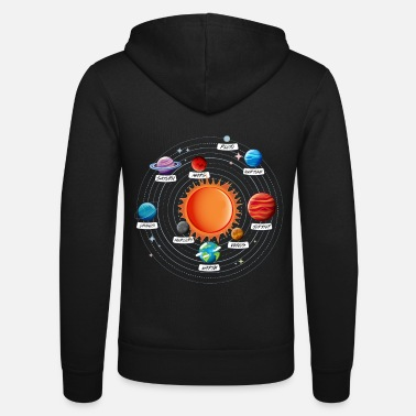 Solar Solar System Planet Astronomy Gift - Unisex Zip Hoodie