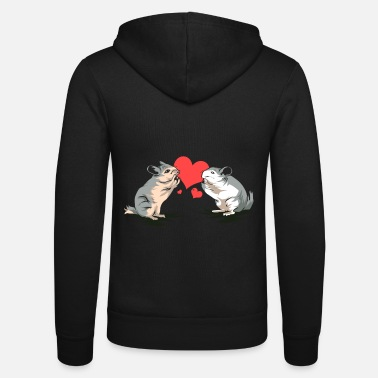Chinchilla chinchilla - Unisex Zip Hoodie
