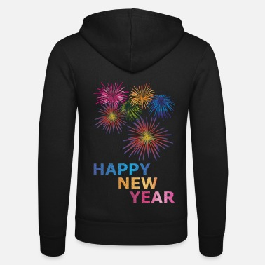 New New Year Happy new year - Unisex Zip Hoodie