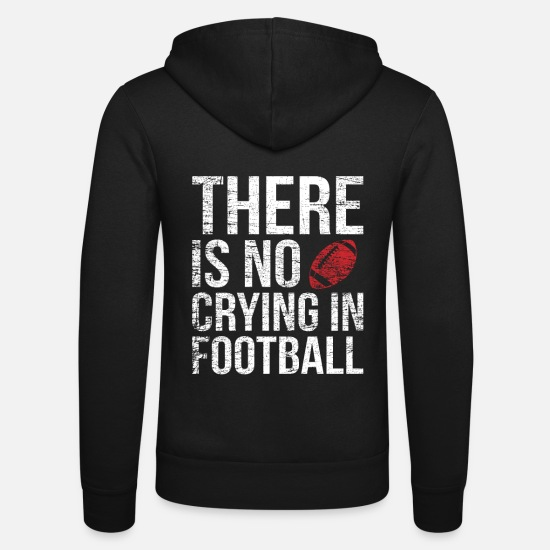 Offensive Hoodies & Sweatshirts - American football - Unisex Zip Hoodie black