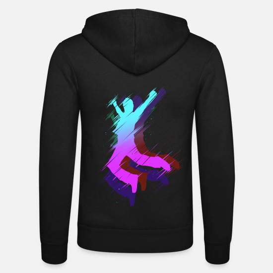 Gift Idea Hoodies & Sweatshirts - JUMP! - Unisex Zip Hoodie black