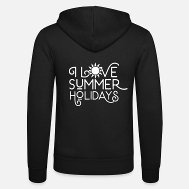 Summer Vacation Travel team summer vacation summer vacation vacation summer - Unisex Zip Hoodie