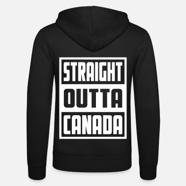 Countrymusic Retro Straight Outta Canada - Unisex Zip Hoodie