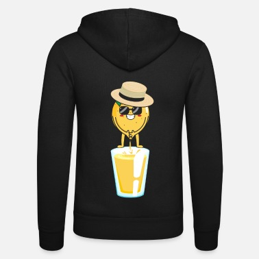 Luck Funny Lemon Summer Gift Outfit - Unisex Zip Hoodie