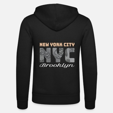 New York City, NYC, rooklyn, Lady Liberty - Unisex Kapuzenjacke