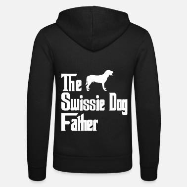 Male Puppy Dog Puppy Greater Swiss Mountain Dog dogs father dad - Unisex Zip Hoodie