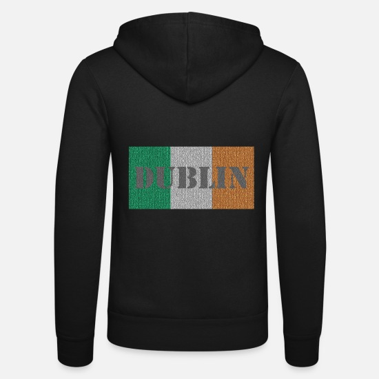 Union Hoodies & Sweatshirts - Dublin - Ireland - Unisex Zip Hoodie black