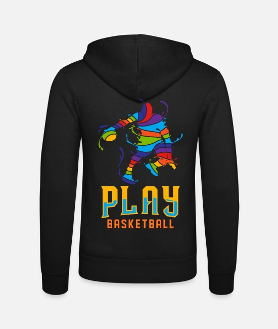 Ball Hoodies & Sweatshirts - basketball - Unisex Zip Hoodie black