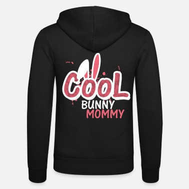 Cool Bunny Mommy Mothers Day - Unisex Zip Hoodie