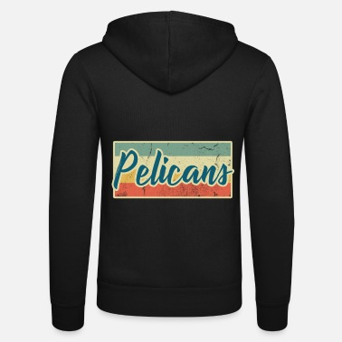 Water Bird Pelicans pelican bird water bird animal gift - Unisex Zip Hoodie