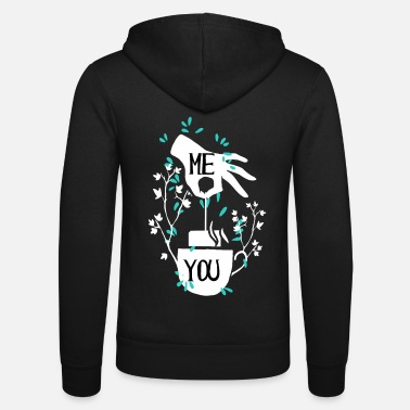 Tea For Tea Bag Tea Cup And Tea Bag Tea - Unisex Zip Hoodie