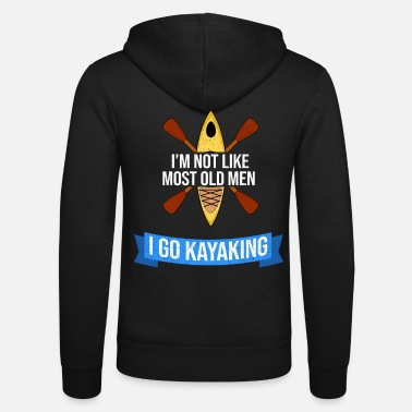 Kayak Kayaking kayaking kayaking - Unisex Zip Hoodie