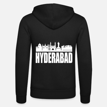 India Hyderabad India - Unisex Zip Hoodie
