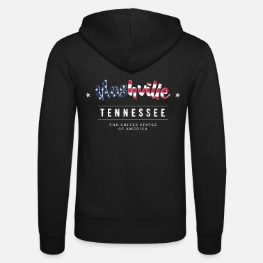 Country Nashville Country Musik USA Tennessee Geschenk - Unisex Kapuzenjacke
