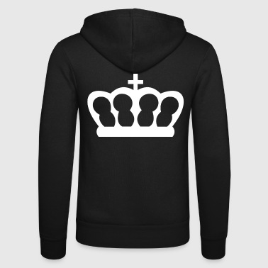 Crown - Unisex Hooded Jacket by Bella + Canvas