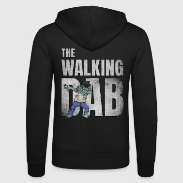 Gehirn The Walking DAB Zombie Boy Dabbing Halloween ws - Unisex Kapuzenjacke von Bella + Canvas
