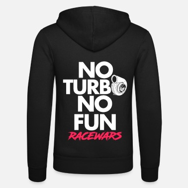Tuning Turbo racing car - Unisex Zip Hoodie