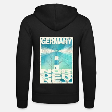 East Nordeney Germany gift idea - Unisex Zip Hoodie