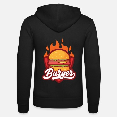 Cheeseburger Cheeseburger Favorite Food Gift Idea - Unisex Zip Hoodie