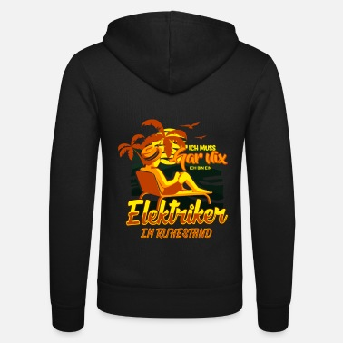 Home &amp ELECTRICIAN IN RETAIL TRADE - Unisex Zip Hoodie
