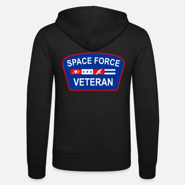 Navy Space Force Veteran Patriotic - Unisex Zip Hoodie