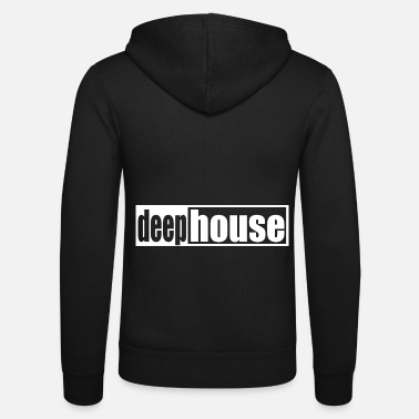 Techno Music Techno - Techno music - House - Deep House - Unisex Kapuzenjacke