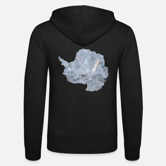 Antarctique Sweat-shirts - Antarctique - Veste à capuche unisexe noir