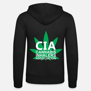 Association Association des inhalateurs de cannabis - Veste à capuche unisexe