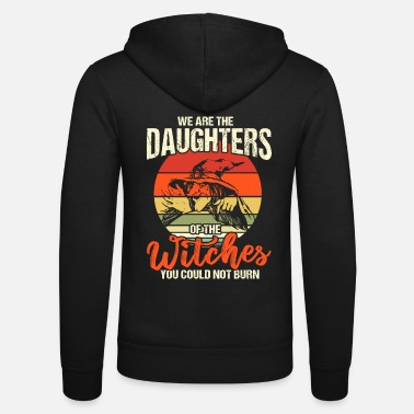 Größe We Are The Daughters Witches - Unisex Kapuzenjacke