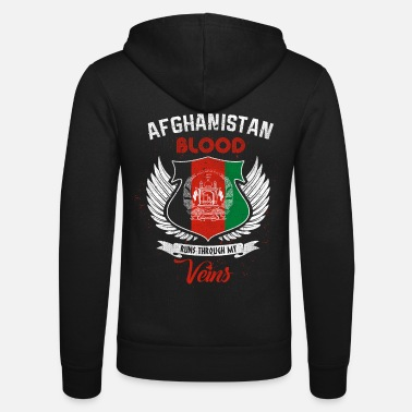Afghanistan Afghanistan - Unisex Hooded Jacket by Bella + Canvas