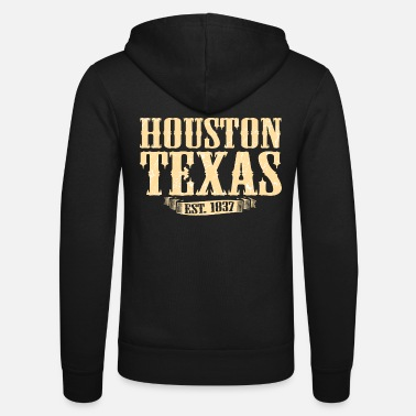 Texas Houston Texas - Unisex Kapuzenjacke