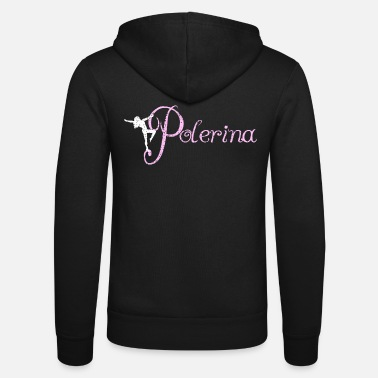 Fitness Pole design - Unisex Hooded Jacket by Bella + Canvas