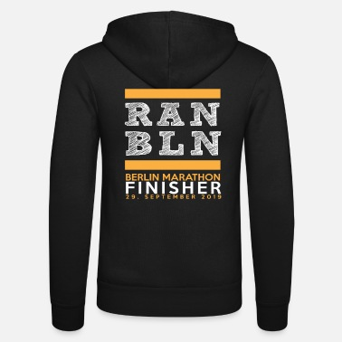 Berlin Marathon 2019 Finisher Shirt Run Runner - Unisex Zip Hoodie