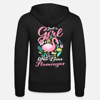 Fauna Flamingo fauna animals - Unisex Zip Hoodie