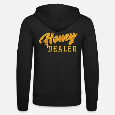 Honey Bee beekeeper - Unisex Zip Hoodie
