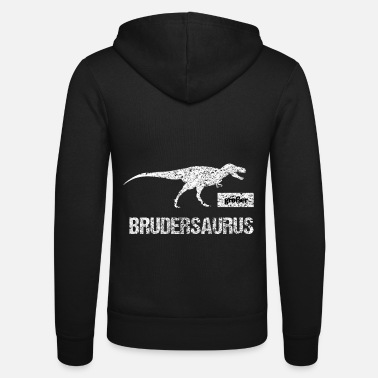 Brother Dinosaur Big Brother Family Brothers Dinosaur Trex - Unisex Zip Hoodie