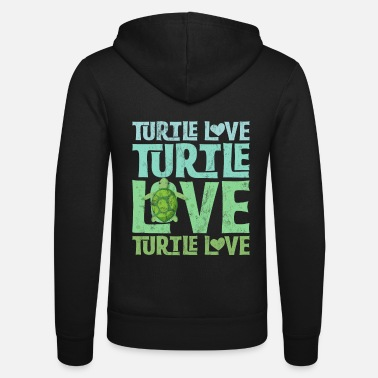 Merituoli Turtle T Shirt Turtle Lover Turtle Love - Unisex Bella + Canvas -hupputakki