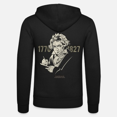 250th Birthday Ludwig van Beethoven's 250th birthday in 2020 - Unisex Zip Hoodie