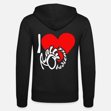 Rally Obedience I love Rally Obedience - Unisex Zip Hoodie