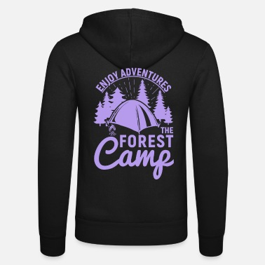 Camp Enjoy Adventures The Forest Camp pu - Unisex Zip Hoodie