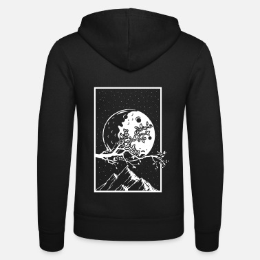 Community Bitcoin To The Moon Digital hodl FUN Geschenkidee - Unisex Kapuzenjacke